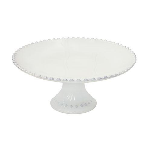 "Costa Nova  Pearl - White 11"" Cake Stand $83.50"
