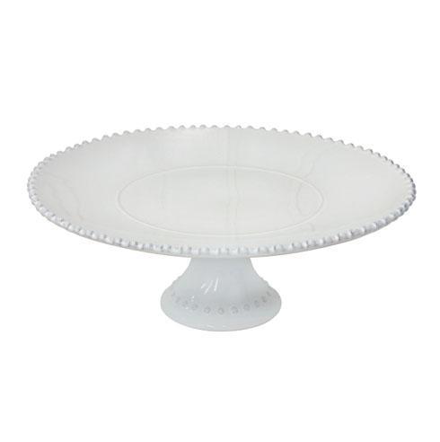 "Costa Nova  Pearl - White 13"" Cake Stand $99.00"