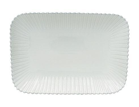 Costa Nova  Pearl - White Rectangular Platter $75.00
