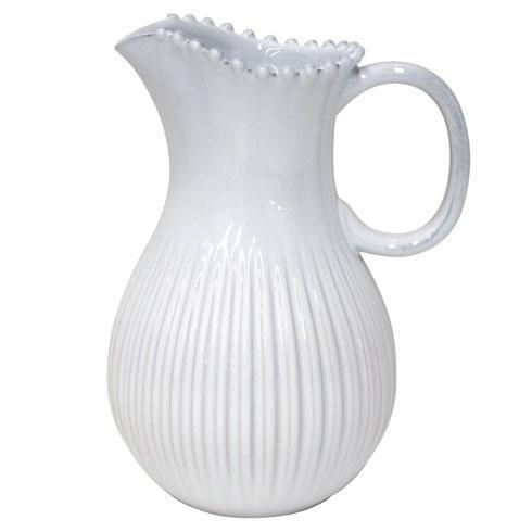Costa Nova  Pearl - White Pitcher $75.00