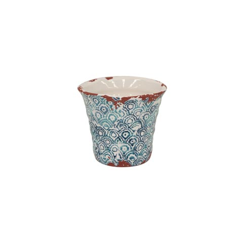 Casafina  Piastrella - Blue Extra Small Flowerpot $15.00