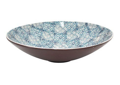 Casafina  Piastrella - Blue Large Serving Bowl $132.00