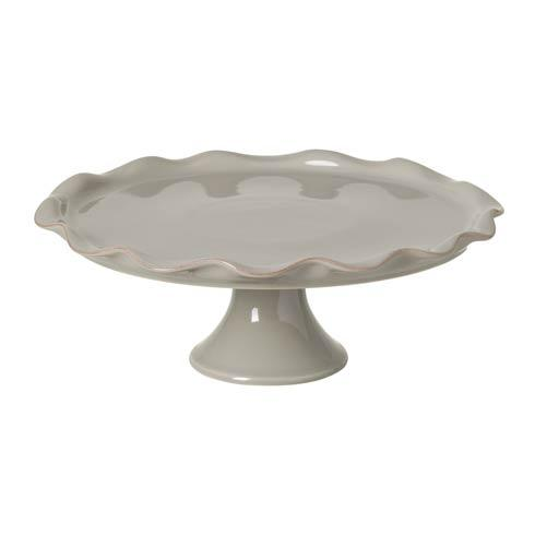 Casafina  Cook & Host – Gray Large Footed Cake Plate $93.50