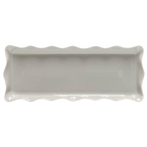 "Casafina  Cook & Host – Gray Rect. Tray 17"" $51.50"