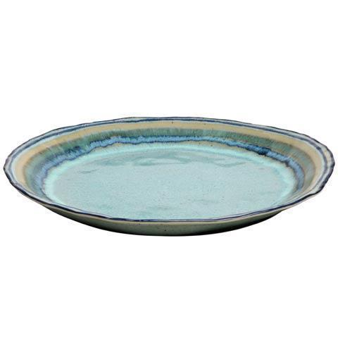 Casafina  Sausalito - Green Round Serving Platter $77.00
