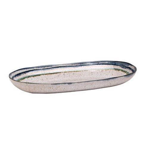 Casafina  Sausalito - White Medium Oval Serving Platter $39.50