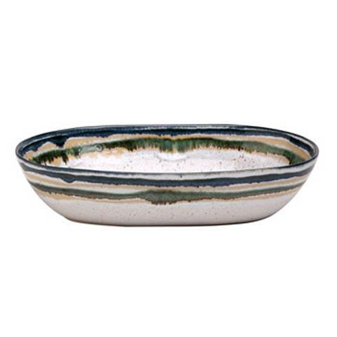 Casafina  Sausalito - White Medium Oval Serving Bowl $39.00