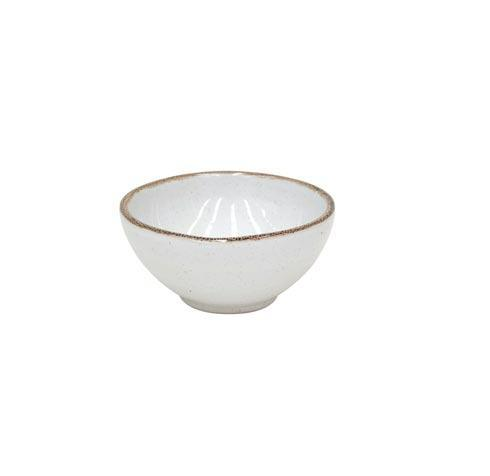 "Casafina  Sardegna - White Fruit Bowl 5"" $15.50"