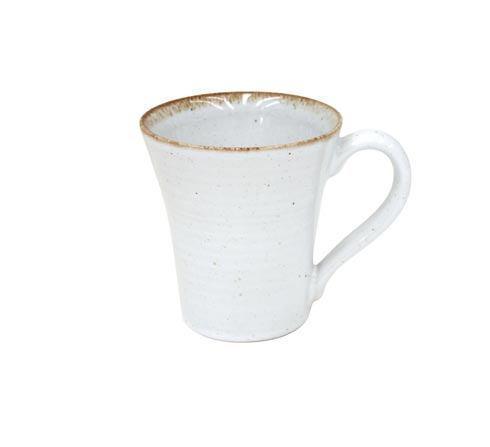 Casafina  Sardegna - White Mug 12 oz. $21.00