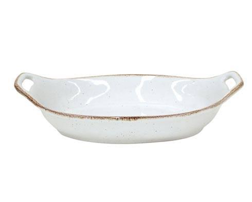 "Casafina  Sardegna - White Oval Baker 13"" $54.50"