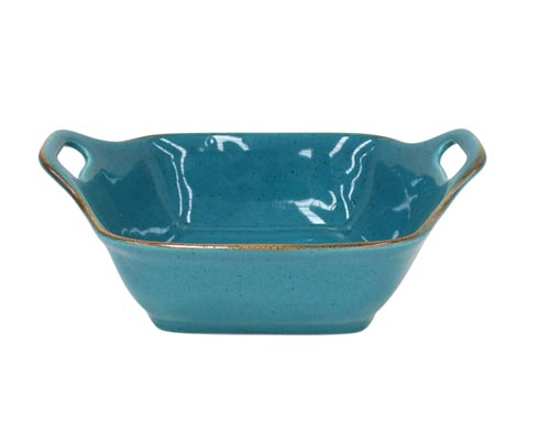 "Casafina  Sardegna - Blue Sq. Baker 11"" $48.50"