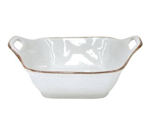 """Casafina  Sardegna - White Sq. Baker 11"""" $48.50"""
