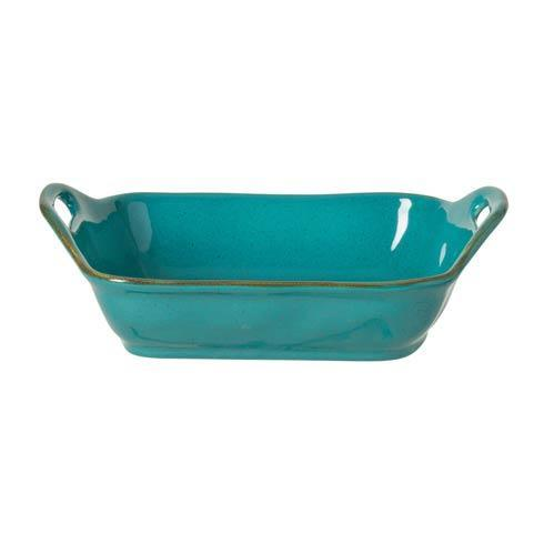 "Casafina  Sardegna - Blue Rect. Baker 13"" $60.00"