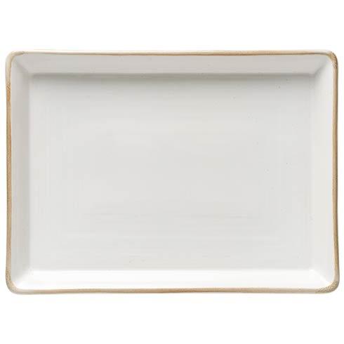 """Casafina  Sardegna - White Rect. Platter 18"""" $97.00"""