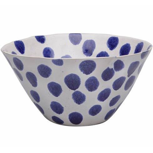 Casafina  Spot On - Blue Spots Serving Bowl $61.20