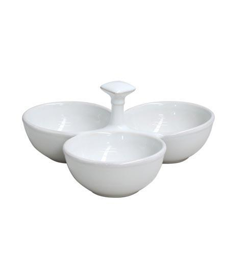 Casafina  Cook & Host - White 3-Section Server $53.00
