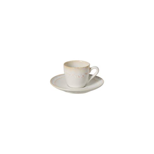 Casafina  Taormina - White Coffee Cup and Saucer 3 oz. $28.50