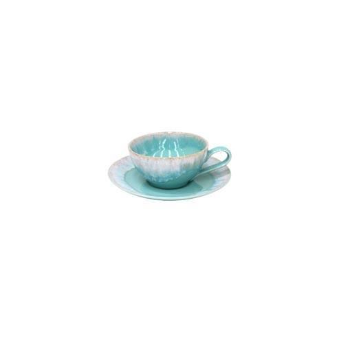 Casafina  Taormina - Aqua Tea Cup and Saucer 7 oz. $34.50