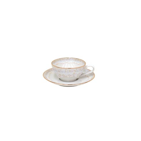 Casafina  Taormina - Gold Tea Cup and Saucer 7 oz. $48.50