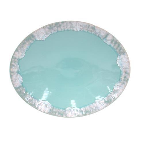 "Casafina  Taormina - Aqua Oval Platter 16"" $81.00"