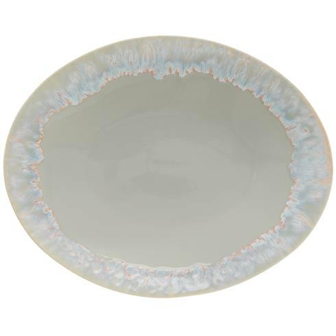 Casafina  Taormina - Gray Oval Platter $77.00