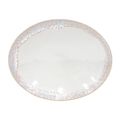 "Casafina  Taormina - White Oval Platter 16"" $81.00"