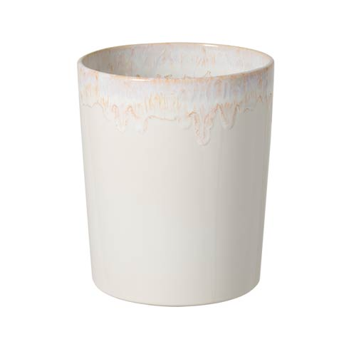 "Casafina  Taormina Bath Waste Basket 10"" White $97.00"