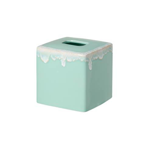 "$44.00 Boutique Tissue 6"" Aqua"