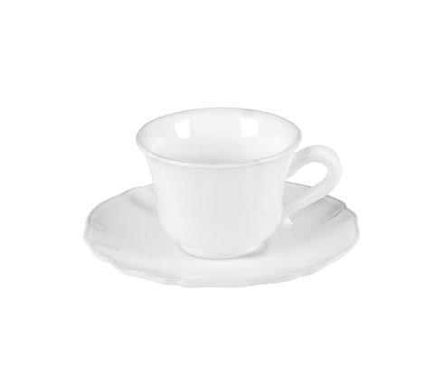 Costa Nova  Alentejo - White Tea Cup & Saucer $30.00
