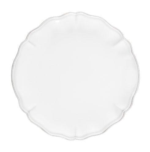 "Costa Nova  Alentejo - White Dinner Plate 11"" $27.50"