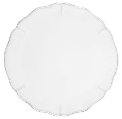 Costa Nova  Alentejo - White Charger Plate $50.50