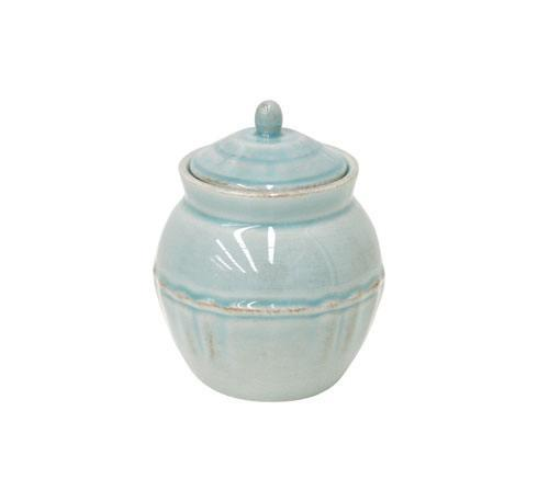 Costa Nova  Alentejo - Turquoise Sugar Bowl 13 oz. $42.00