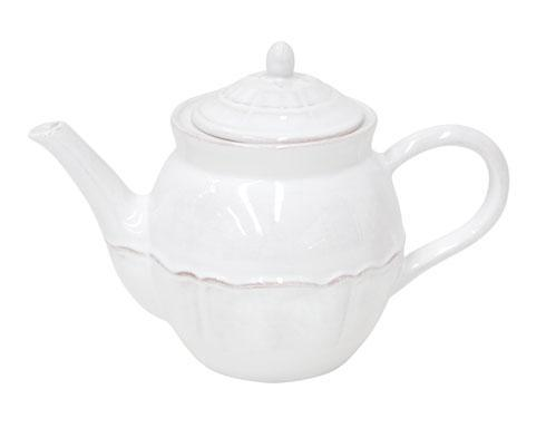 Costa Nova  Alentejo - White 50.7 Oz Tea Pot $69.00