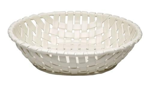 Casafina  Ceramic Baskets Large Oval Basket $92.50