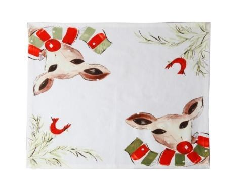 Casafina  Deer Friends Napkin, Set/4 $37.50