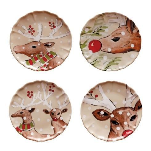 Casafina  Deer Friends Dinner Plate Set/4 $119.00