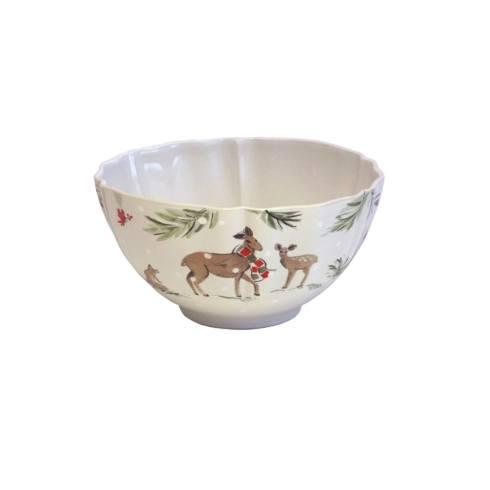 $66.00 Large Tall Bowl, White