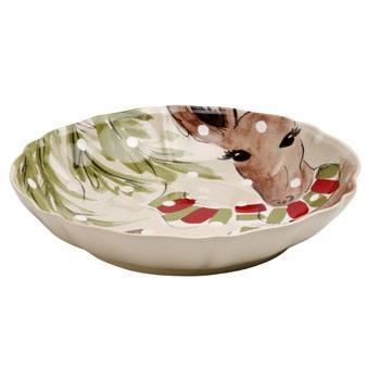 Casafina  Deer Friends Large Serving Bowl $66.00