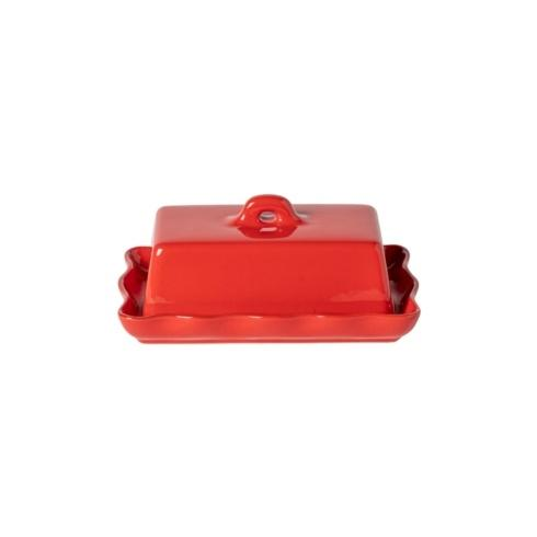 "$44.00 Rect. Butter Dish 8"" w/ Lid"
