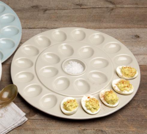 Casafina  Egg Platters/Servers Egg Platter, Linen $46.25