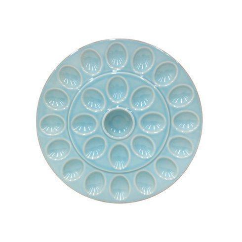 Casafina  Cook & Host - Robin's Egg Blue Egg Platter  $49.00