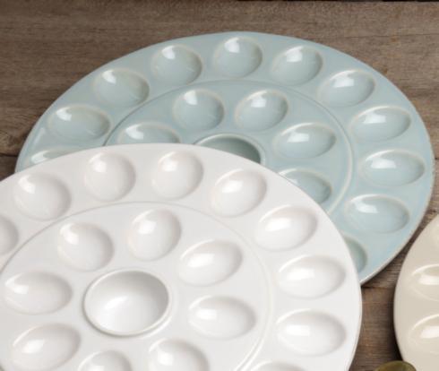 Casafina  Egg Platters/Servers Egg Platter, Robins Egg Blue $46.25