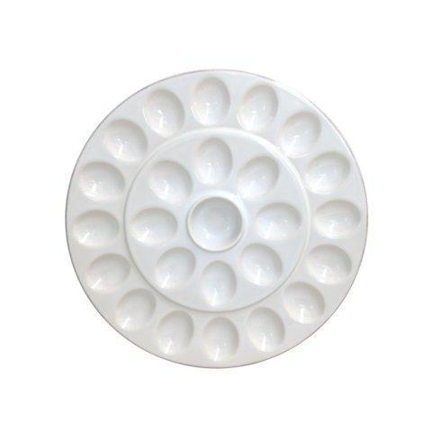 "Casafina  Cook & Host - White Egg Platter 13"" $51.50"