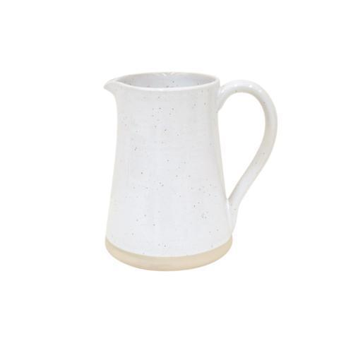 Casafina  Fattoria - White Medium Pitcher $62.00