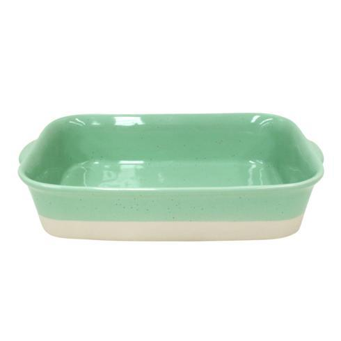 Casafina  Fattoria - Green Medium Rectangular Baker $64.00