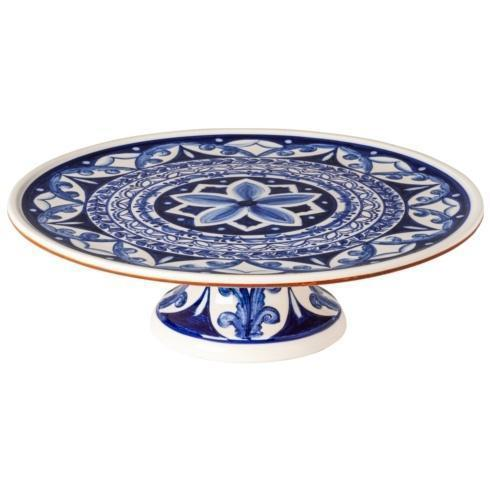 $129.00 Footed Plate 13""