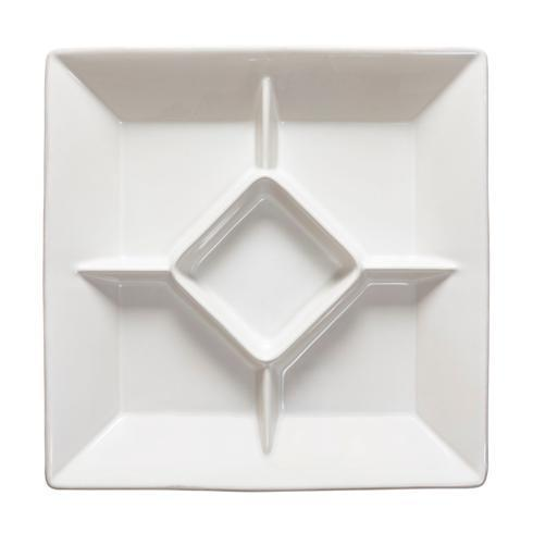 Casafina  Cook & Host - White Square Appetizer Tray  $61.50