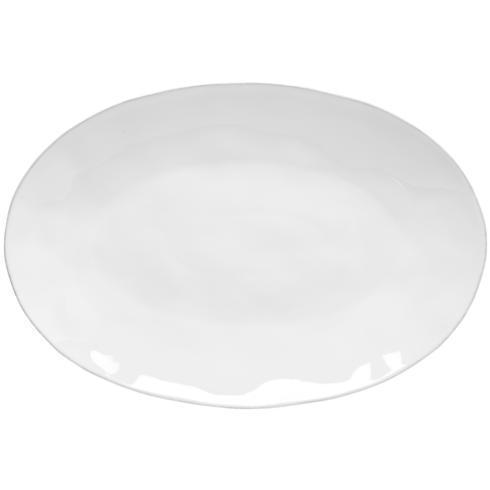 """Costa Nova  Livia - White Oval Platter 18"""" $73.50"""