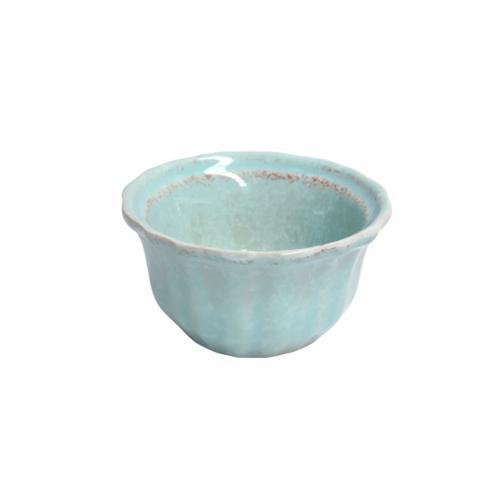 """Casafina  Impressions - Robin\'s Egg Blue R. Ramekin 4"""" $9.00"""