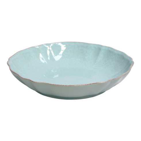 """Casafina  Impressions - Robin\'s Egg Blue Pasta/Serving Bowl 13"""" $62.00"""